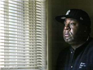 """George Frazier, shown on Nov. 21, is the executive director of Hoops Express, the program that oversaw the creation of the year-old project now named """"Operation U-Turn."""" The program aims to help drug dealers, from the streets of Newburgh, change their lifestyles. Times Herald-Record/JEFF GOULDING By John Doherty"""